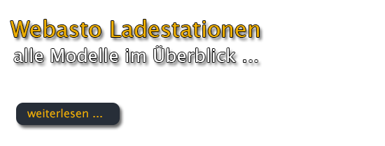 Webasto Ladestationen